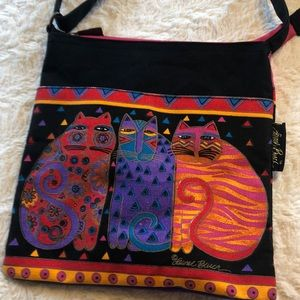 Laurel Burch crossbody purse